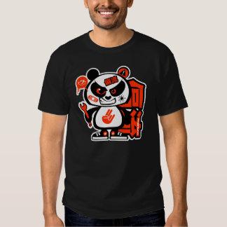 Patrulla loca de la deriva - panda agresiva (roja) camisas