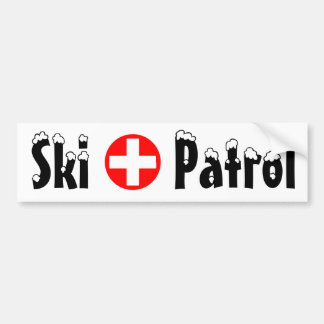 Patrulla - pegatina para el parachoques pegatina de parachoque