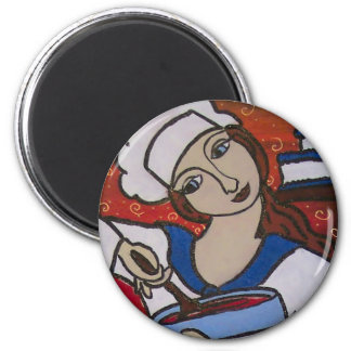 Patry Chef 2 Inch Round Magnet