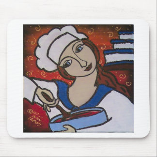 Patry Chef Mouse Pad