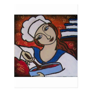 Patry Chef Postcard