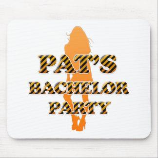 Pat's Bachelor Party Mouse Pad
