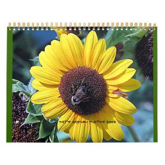 Pats Garden 2009 Wall Calendar