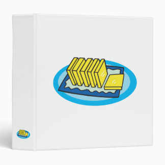 pats of butter 3 ring binder