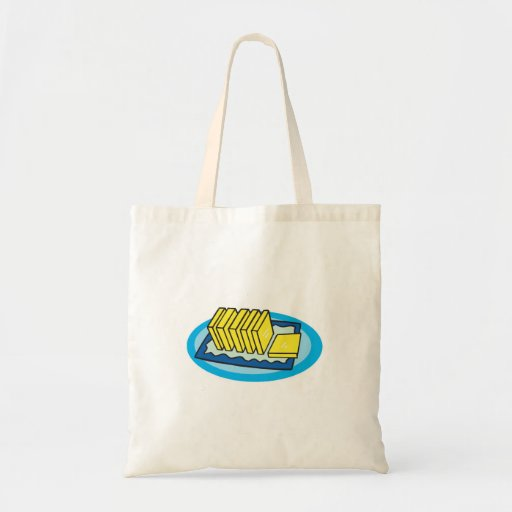 pats of butter canvas bags