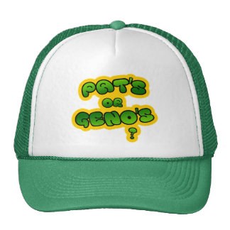 Pat's or Geno's? Trucker Hat