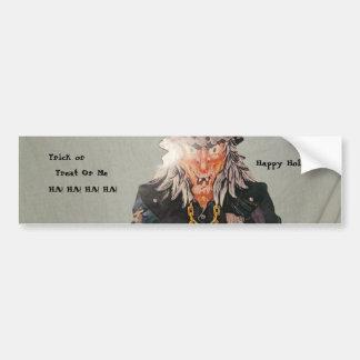 pats pics 035, Trick Or Treat Or Me HA! HA! HA!... Bumper Sticker