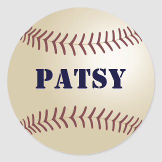 Patsy Baseball Sticker / Seal