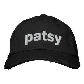 patsy embroidered baseball hat