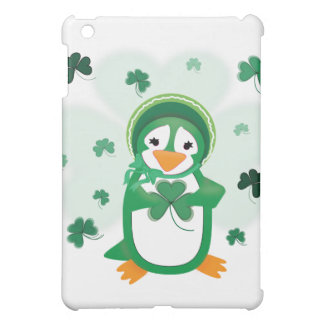 Patsy Penguin St. Patrick's Day  Cover For The iPad Mini