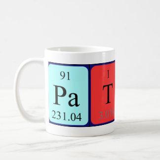 Patsy periodic table name mug