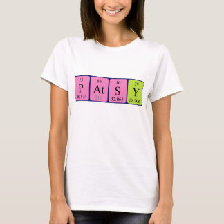 Patsy periodic table name shirt