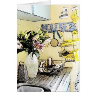 Patsy's Kitchen - Letter Card