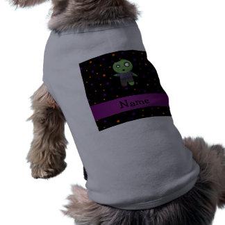 Patt conocido personalizado de los lunares de Hall Camisetas Mascota