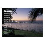 Pattaya Beach Sunset ... Chonburi, Thailand Business Card Templates