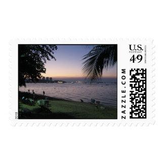 Pattaya Beach Sunset ... Chonburi, Thailand Postage