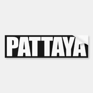 Pattaya Pegatina Para Auto