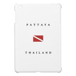 Pattaya Thailand Scuba Dive Flag iPad Mini Cases