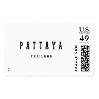 Pattaya Thailand Stamp