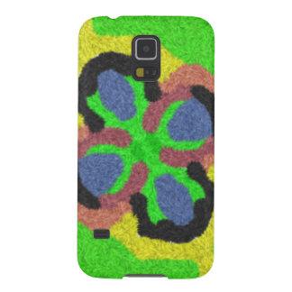 Patten abstracto colorido funda de galaxy s5