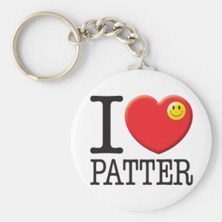 Patter Love Key Chains