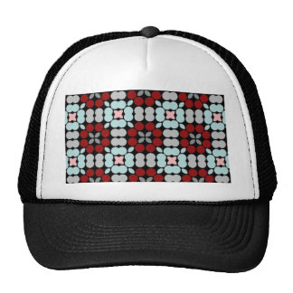 Patter LUISE red blue Trucker Hat