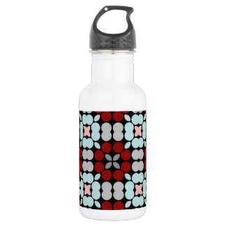 Patter LUISE red blue 18oz Water Bottle