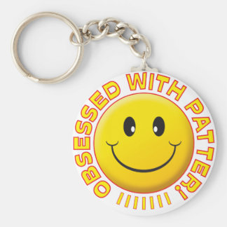 Patter Obsessed Smile Key Chains