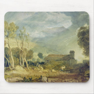 Patterdale Old Church, c.1810-15 (w/c over graphit Mouse Pad