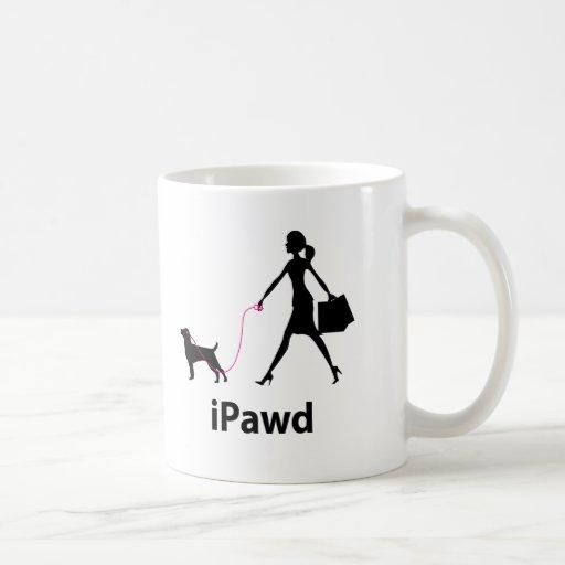 Patterdale Terrier Classic White Coffee Mug