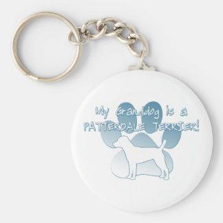 Patterdale Terrier Granddog Keychain