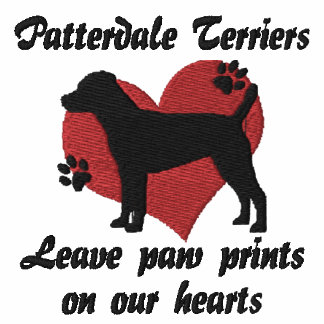 Patterdale Terriers Leave Paw Prints