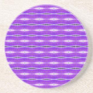 Patterm púrpura posavasos de arenisca