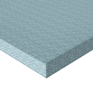 pattern11 EMBOSSED ARGYLE SOFT BLUE CLOTH PATTERN Canvas Print