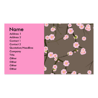 pattern11, Name, Address 1, Address 2, Contact ... Business Card