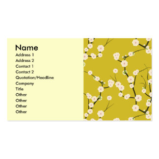 pattern51, Name, Address 1, Address 2, Contact ... Business Card