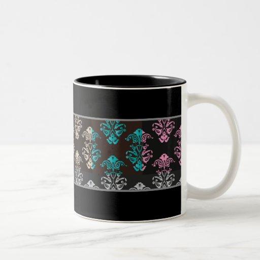 pattern5 Two-Tone coffee mug