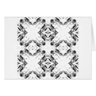 pattern 106 black card