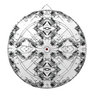 pattern 106 black dart board