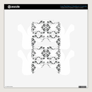 pattern 106 black decal for PS3 controller