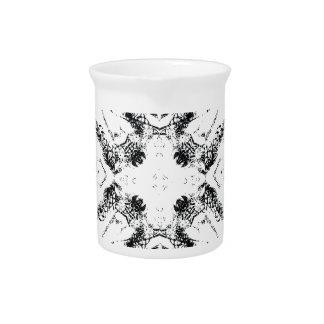 pattern 106 black drink pitchers