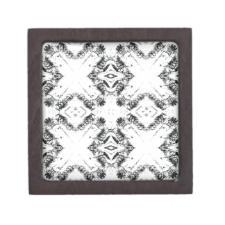 pattern 106 black jewelry box