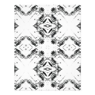 pattern 106 black letterhead