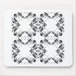 pattern 106 black mouse pad