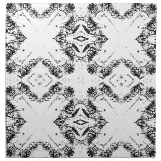 pattern 106 black napkin