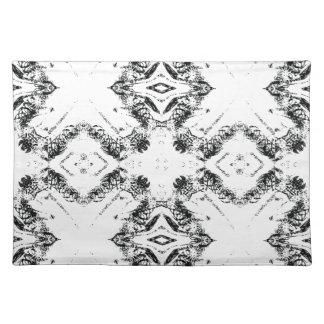 pattern 106 black placemat