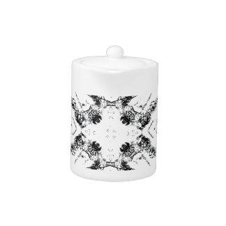 pattern 106 black teapot