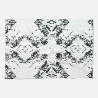pattern 106 black towel