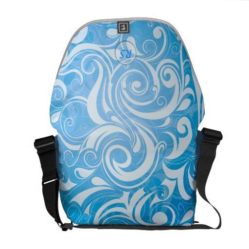 Pattern 12 Messenger Bag