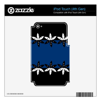 Pattern 1 iPod touch 4G skins